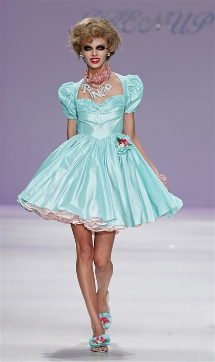 Betsey Johnson at New York Fashion Week Spring 2015 Betsey Johnson