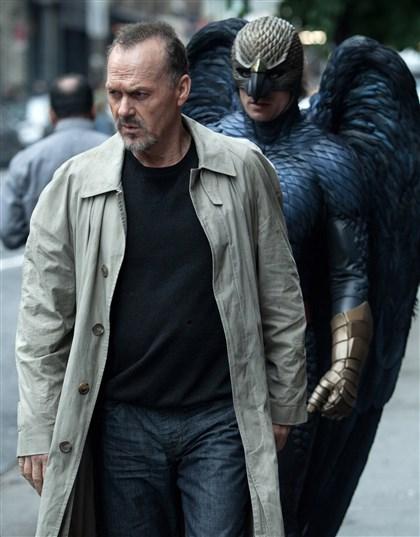 "Keaton_birdman0116 Michael Keaton portrays Riggan in a scene from ""Birdman."""