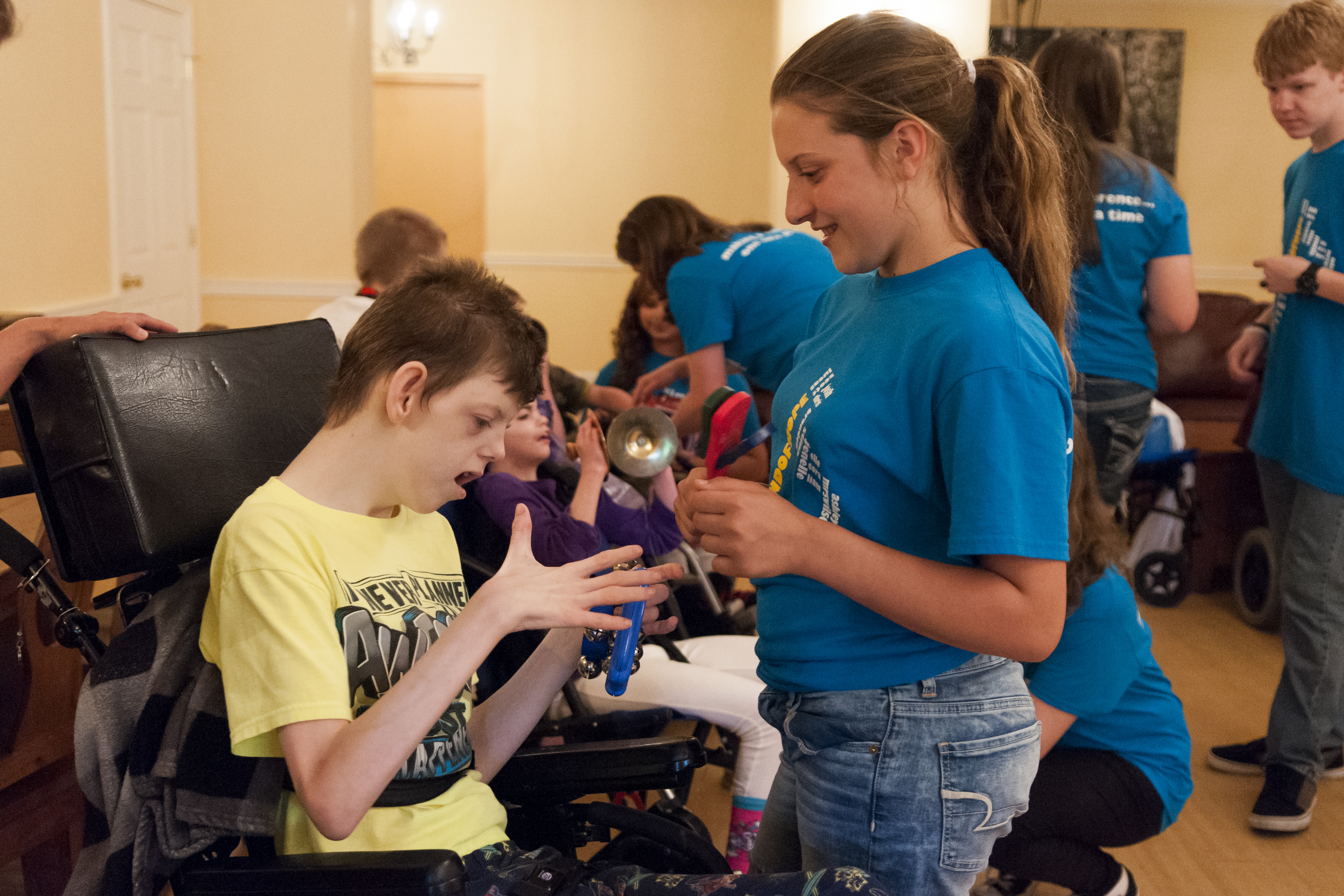 Hopewell Junior High School Band Shares Its Music With Young Patients