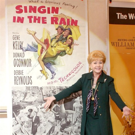 DebbieReynolds Film star Debbie Reynolds, who collected movie memorabilia for more than 30 years, opened the Hollywood Motion Picture Museum in Pigeon Forge, Tenn., in 2005.
