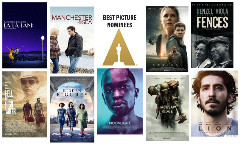 Image result for 2016 oscar nominees collage