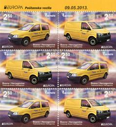 Evropa – Poštanska Vozila (karnet)
