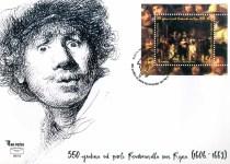 350 Godina Od Smrti Rembrandta Van Rijna – FDC