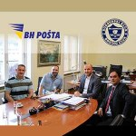 Delegacija Regionalne Bokserske Lige Posjetila BH Poštu