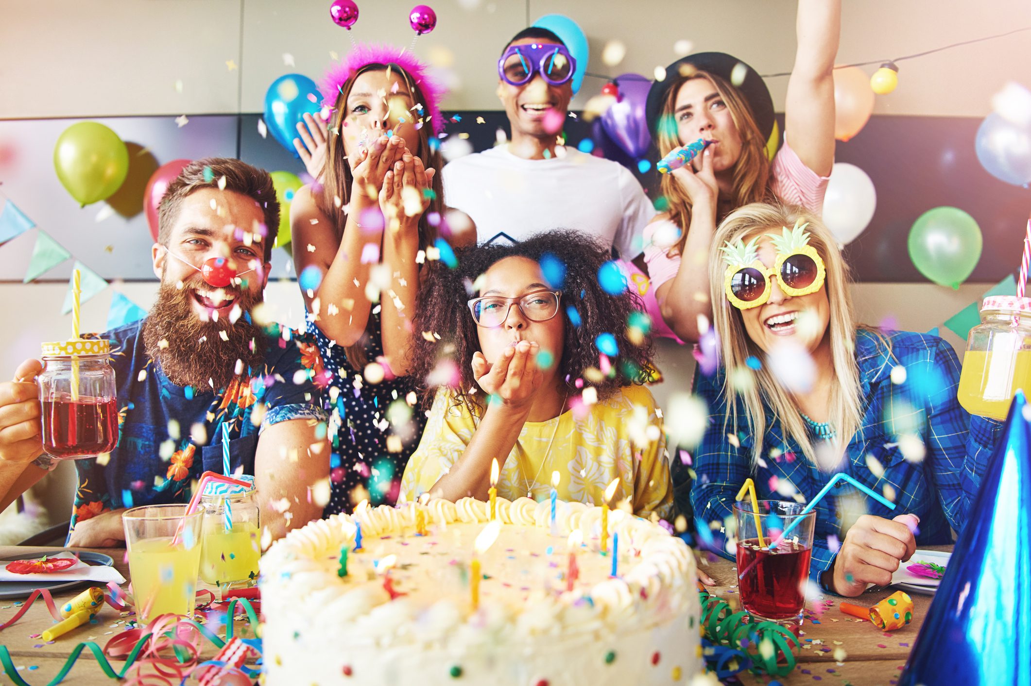 24 Snazzy Grown Up Adult Birthday Party Ideas