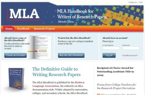 The Modern Language Association's (MLA) style manual is most commonly used to write papers within the liberal arts and humanities.