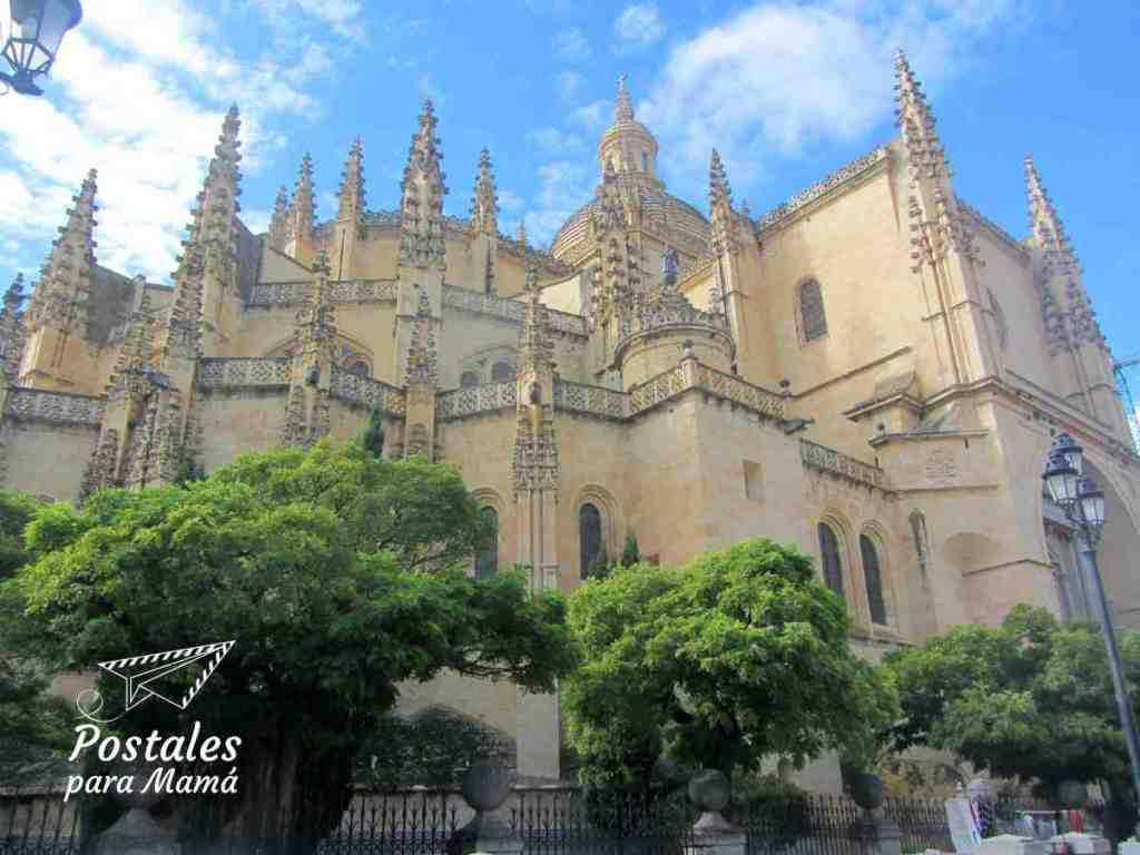 Catedral Segovia - Postales para Mamá