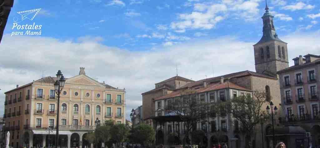 Plaza Mayor Segovia - Postales para Mamá