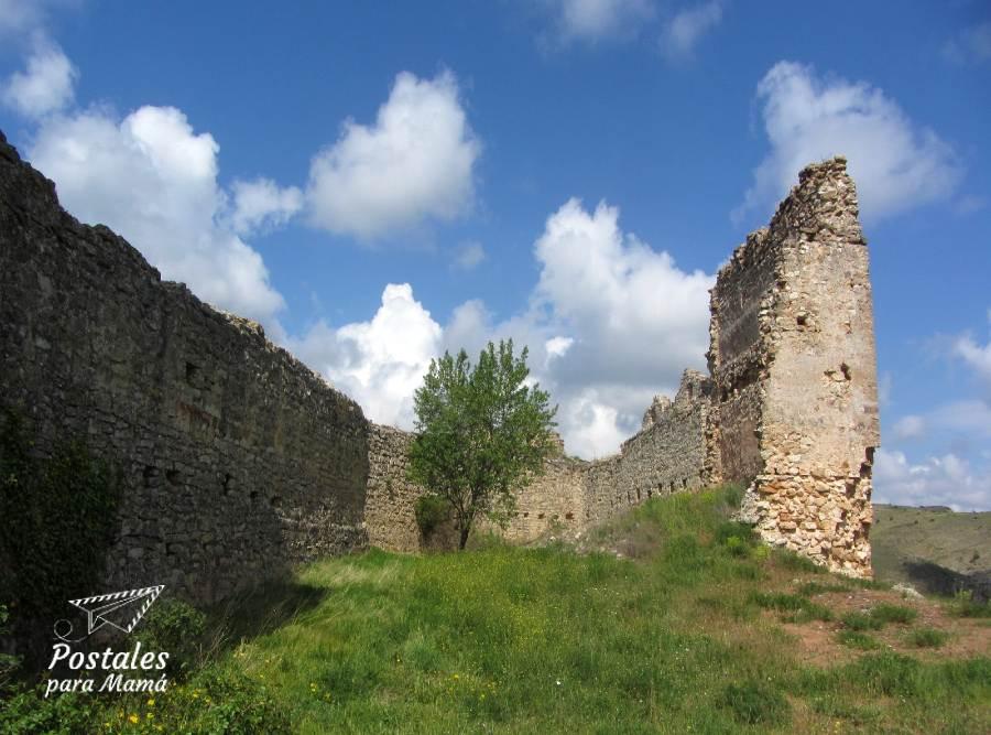 Bijuesca ruinas castillo - Postales para Mamá