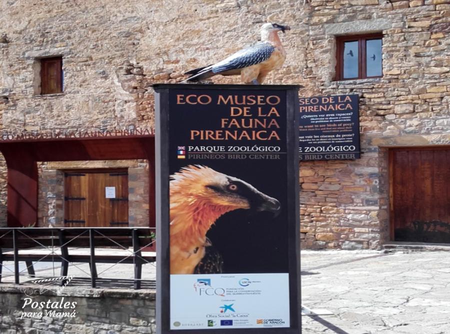 Entrada Eco Museo Aínsa - Postales para Mamá
