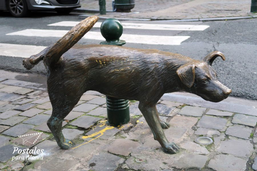Perro Bruselas - Postales para Mamá