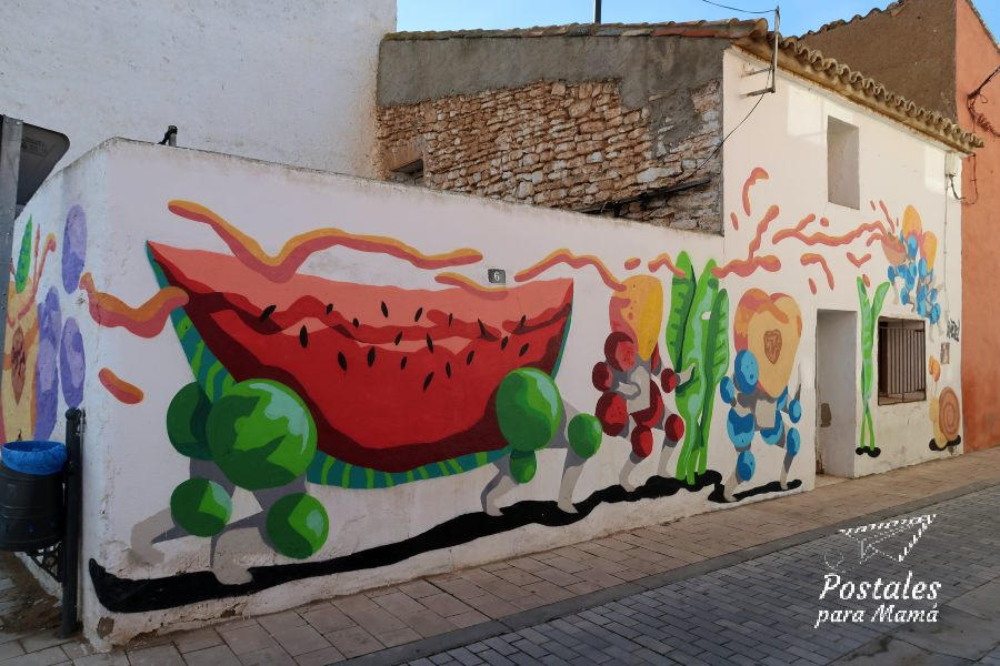 Mural 12 Alfamén - Postales para Mamá