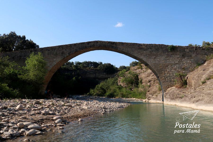 Puente Roda Isábena - Postales para Mamá