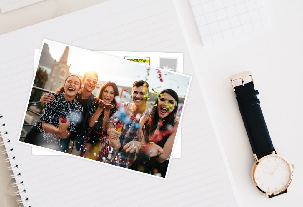 Geniesse Den Tag Einfach So Spruche Echte Postkarten Online