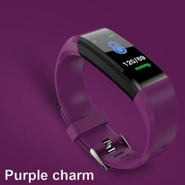 Športové fitness náramkové hodinky na sledovanie aktivity 9