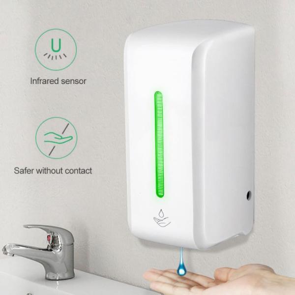 Automatický dávkovač mydla s bezdotykovým senzorom, dezinfekcia rúk (850 ml)  3