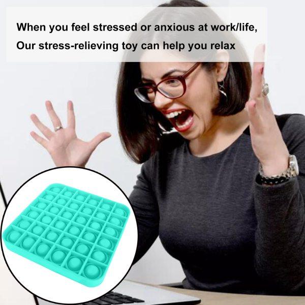 Pop It Fidget senzorická hračka s bublinkami na odbúranie stresu (viac druhov) 3