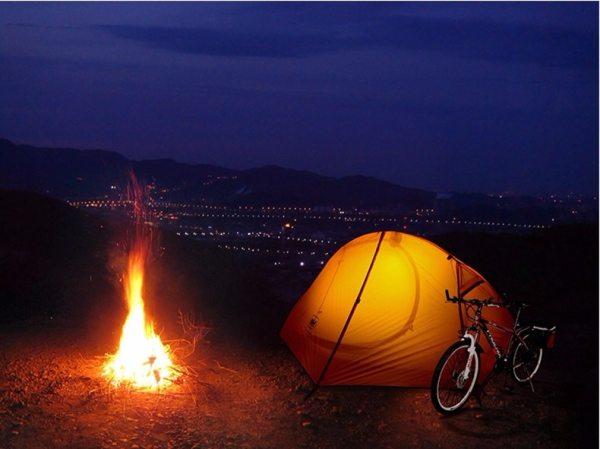 Cyklistický kempingový stan pre 1 osobu Naturehike Ultralight 20D/210T NH18A095-D 20