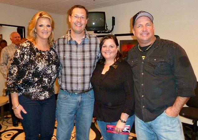 The night we met Garth Brooks and Trisha Yearwood