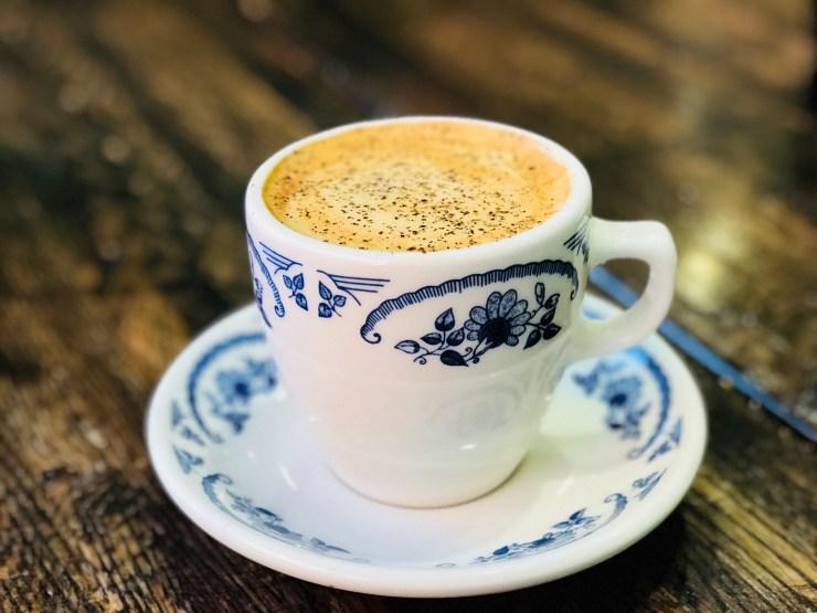 The Cowboy Coffee at The Pioneer Woman Mercantile in Pawhuska, Oklahoma
