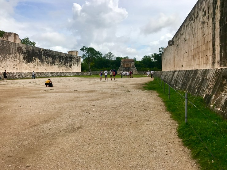 Sacred ball game court, Chichén Itzá, Mexico