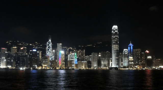 Hong Kong - Victoria Harbour - Kowloon
