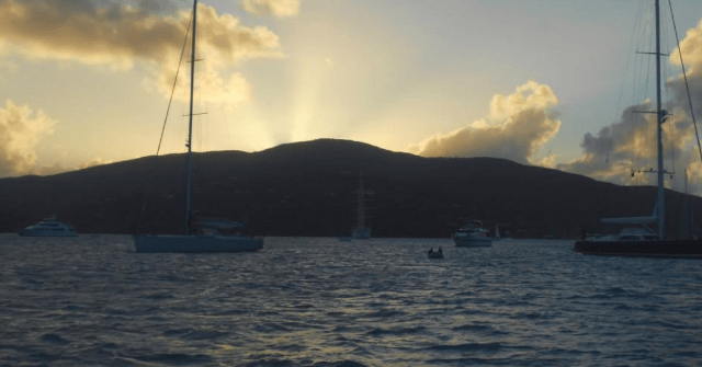 Sunset in the Caribbean - Meet the Postcard Press Team