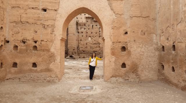Marrakech, Morocco - El Badi Palace