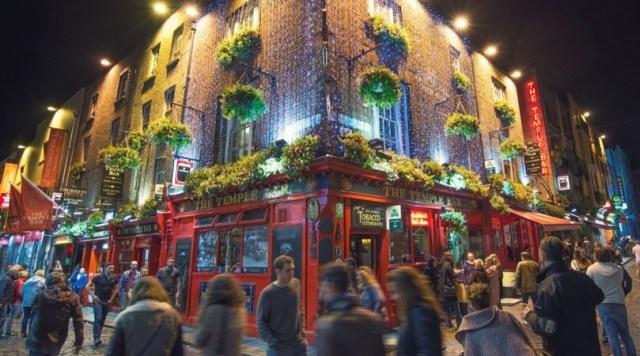 Pub in Dublin, Ireland