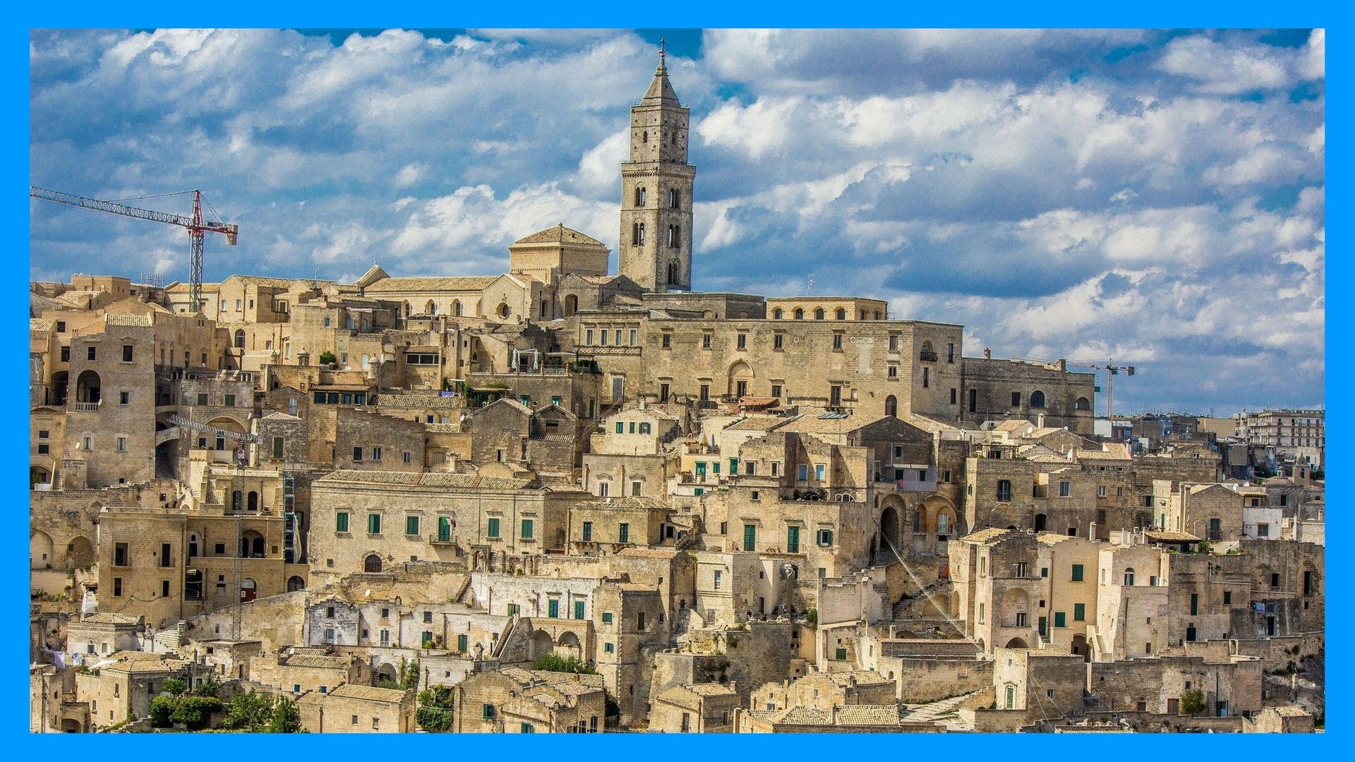 UNESCO World Heritage Site, The Sassi and the Park of the Rupestrian Churches of Matera