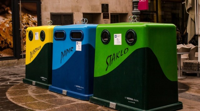 Recycling Bins Abroad