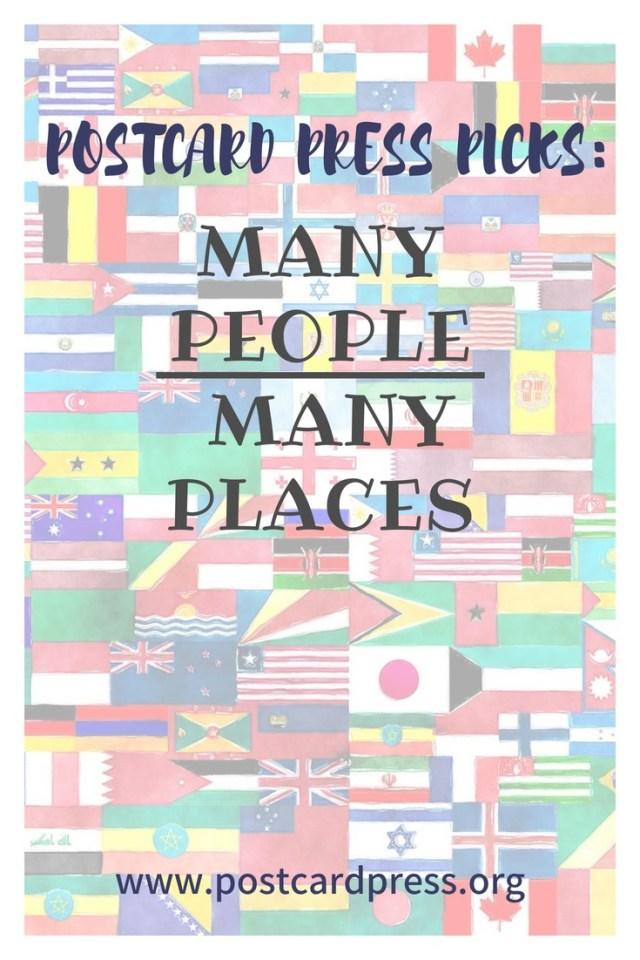 Postcard Press Picks Many People Many Places Pinterest Image