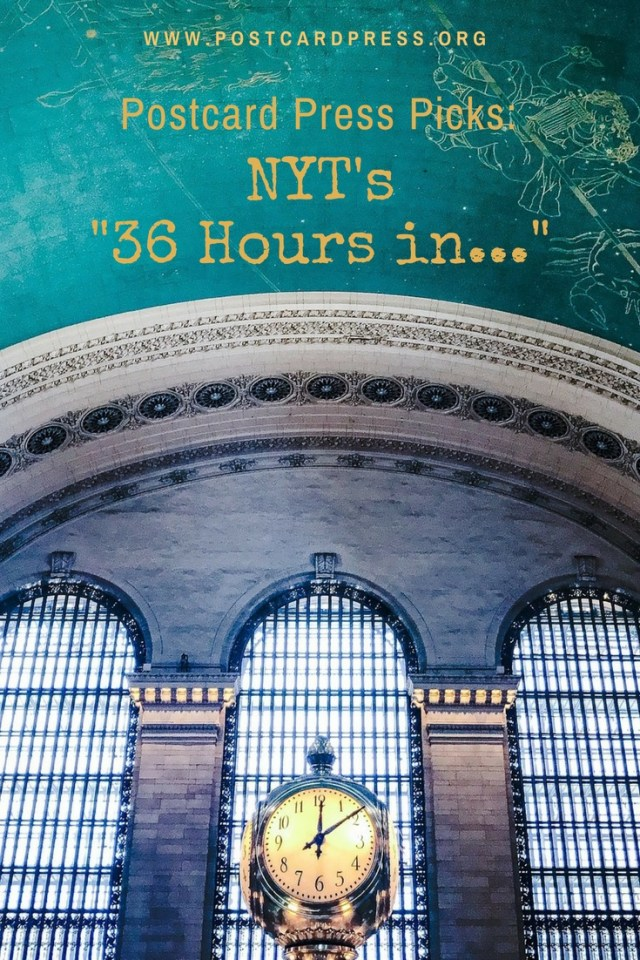 New York Times 36 Hours In Pinterest Image of Clock