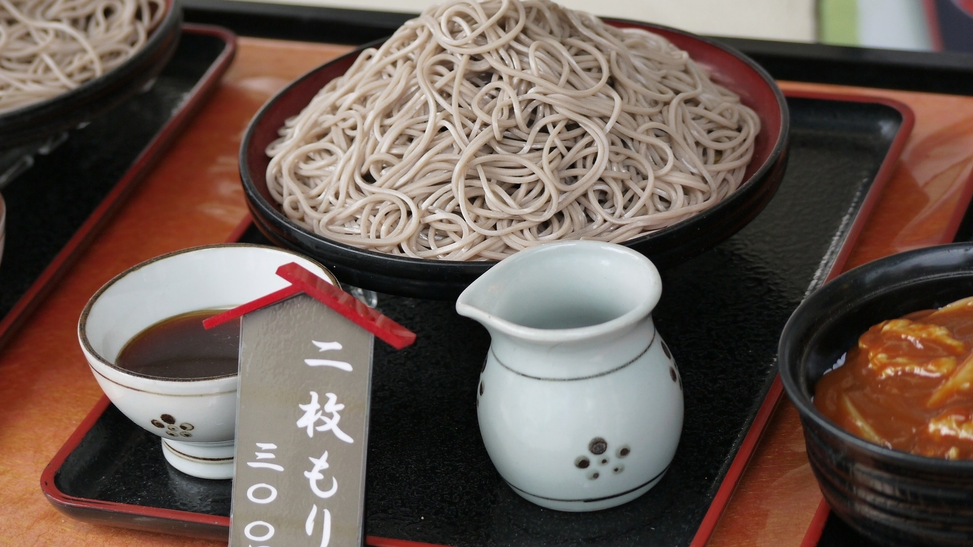 Worth It Featured Graphic - Soba Noddles in Japanese Setup