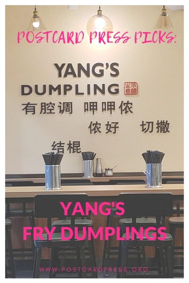 Yang's Fry Dumpling Pinterest