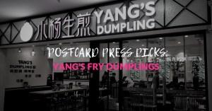 Yang's Fry Dumpling Social Media