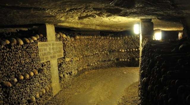 Image of the Catacombs of Paris