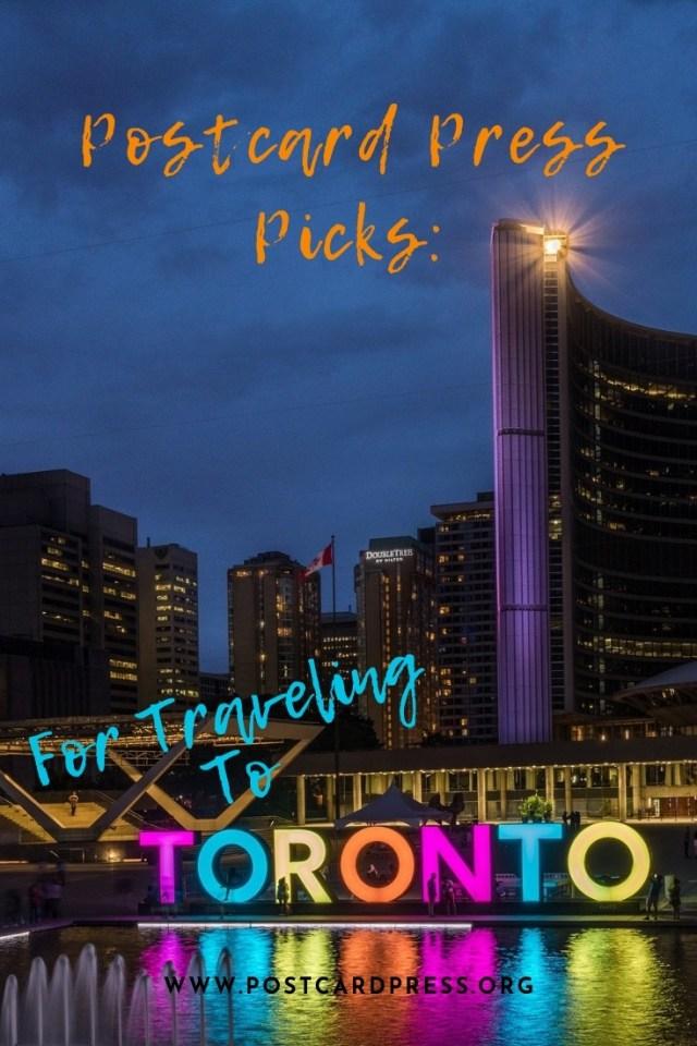 Toronto Pinterest Image - Toronto sign at night