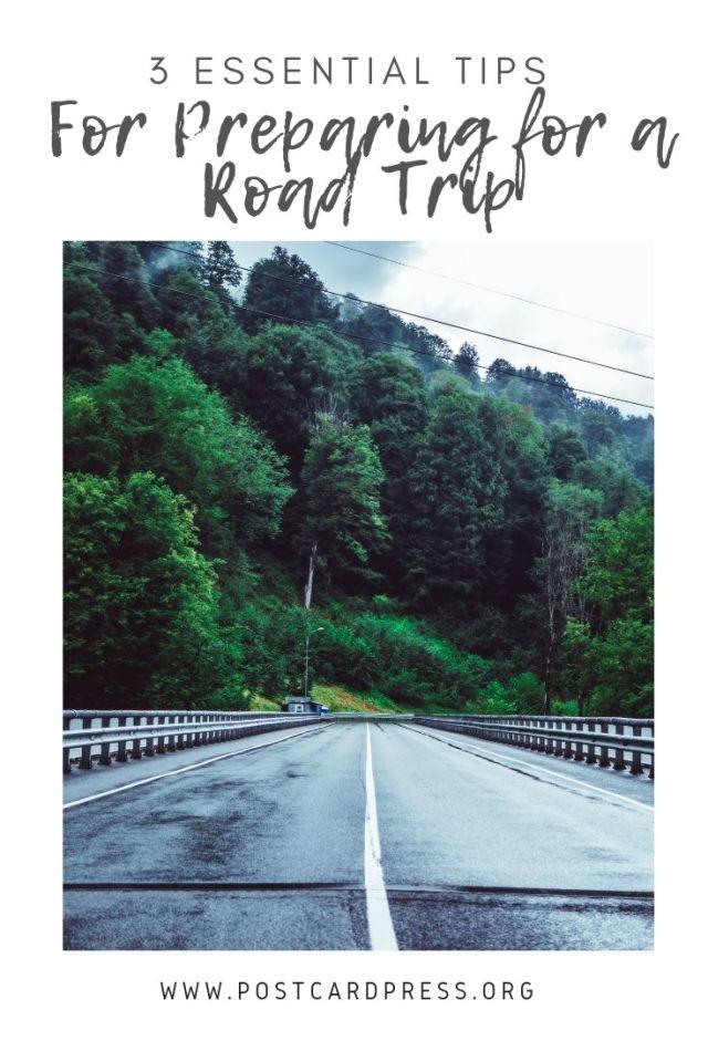 3 Essential Tips for Preparing for a Road Trip - Postcard Press #roadtrips #travel #travelamerica #slowtravel #traveladvice