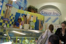 Inexpensive gelato on Via Ottaviano