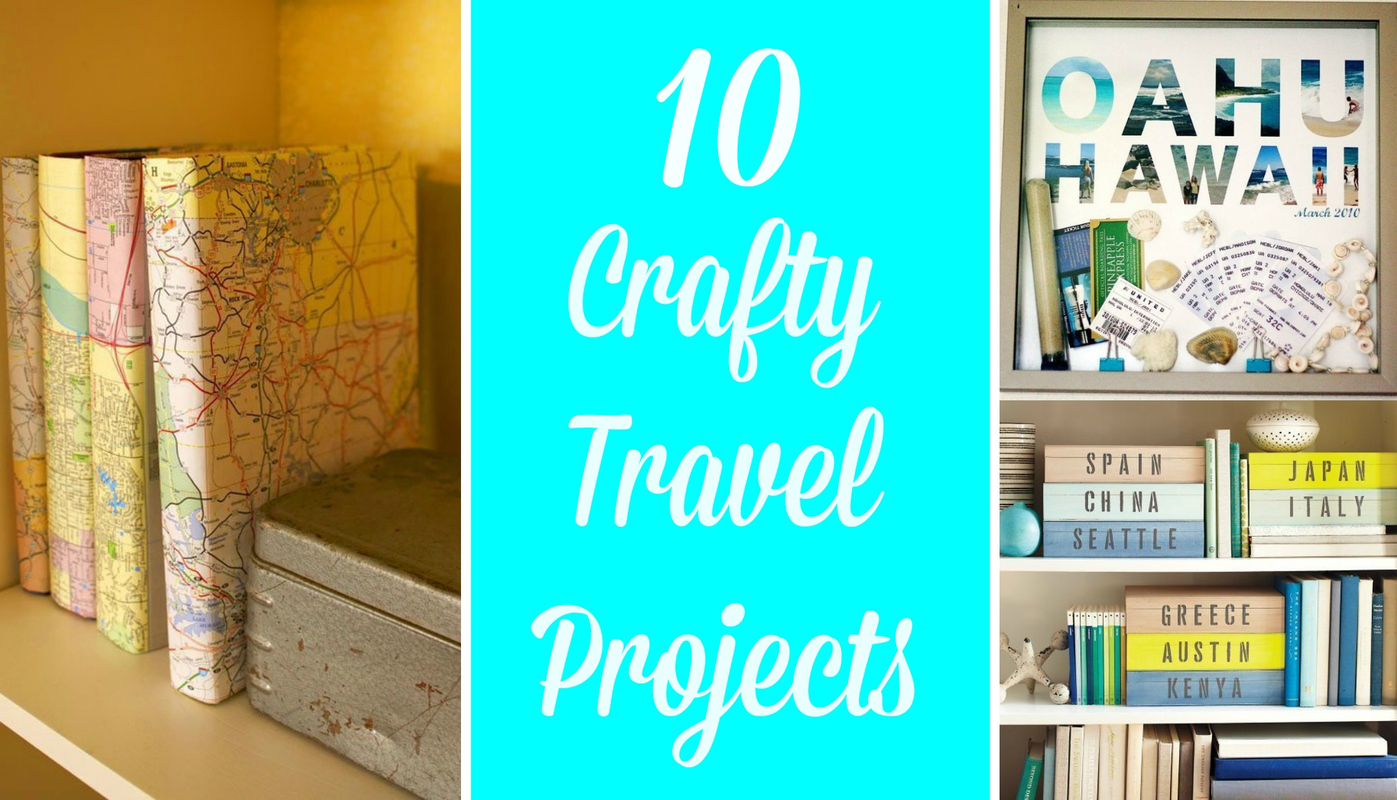db04e0e50 Ten Crafty Travel Projects - Postcards & Passports