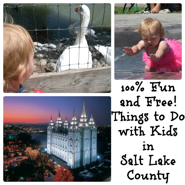Free for Kids in Salt Lake County