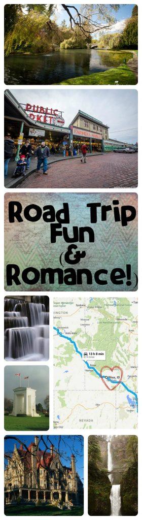 Road trip fun and romance