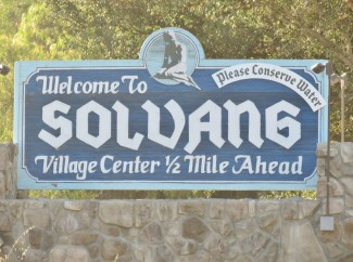 road trip to Solvang