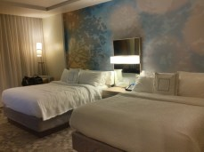 Two Queens room, Courtyard Marriott