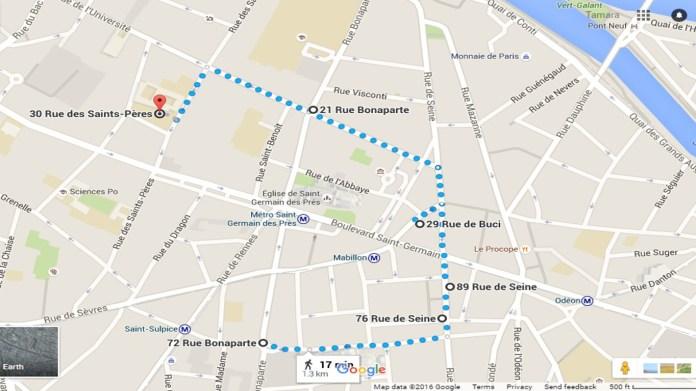 Paris Chocolate Walk