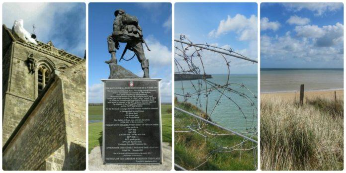 Normandy battlefields