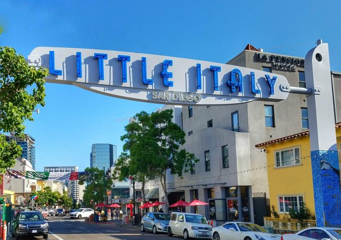 Little Italy sign