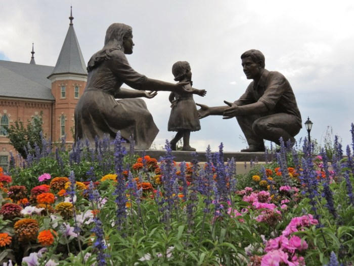 Art and architecture in Provo Utah