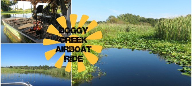 Airboat Ride at Boggy Creek near Orlando